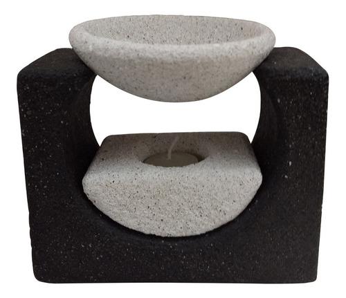 Hornito De Piedra Para Esencia Aromatico Decoracion Grande