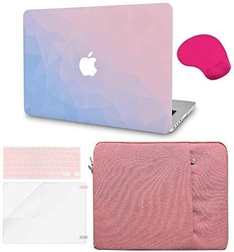Accesorios Funda Y Cover5 En 1 Para Mac Pro De13p (rosa 2)