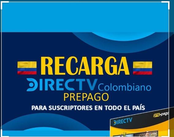 Venta Activación Y Recarga Directv Colombia Al Instante