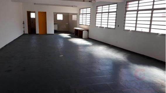 Salão Comercial Para Locação Em São Paulo, Água Fria, 2 Banheiros - Saha0092