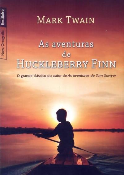 As Aventuras De Huckleberry Finn (livro De Bolso)