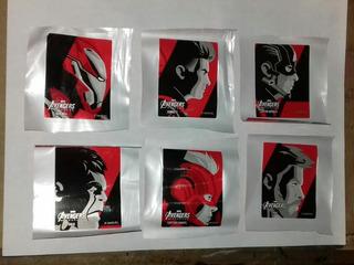 Stickers Avengers Endgame Coca Cola Colección Completa
