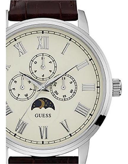 Guess Delancy W0870g1 Reloj Para Caballero Color Café