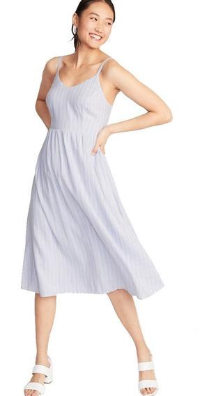 Vestido Casual Dama Mujer Midi Tirantes 390742 Old Navy