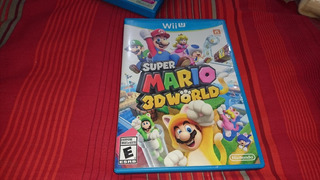 Juego Super Mario 3d World Wii U