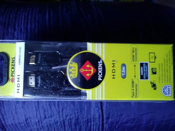 Cable Hdmi A Mini Hdmi 1.5 Mt