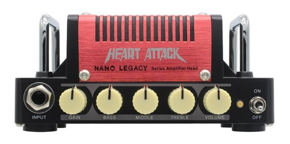 Mini Amp 5w Hotone Nla3 Heart Attack Fender Tweed Mesa Boogi