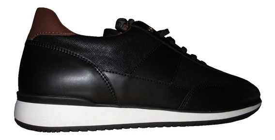 Zapatos Nuevos Zara Man Londres 41 Negro Talón Tostado