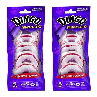 Dingo Ringooo Golosinas De Cuero Crudo Para Todos Los Perros