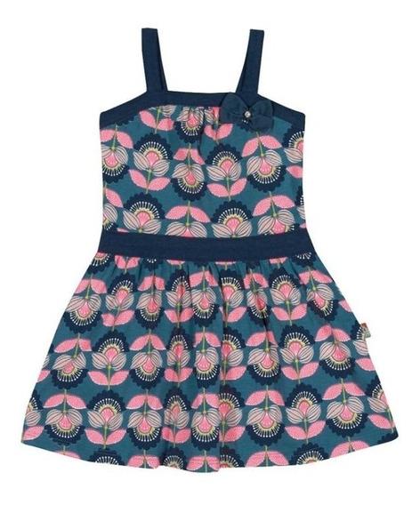 Vestido Floral Com Alças Loopy De Loop