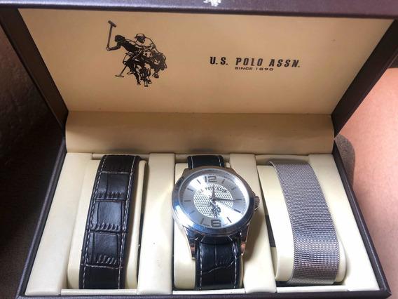 Relógio Triplo Polo Ralph Lauren