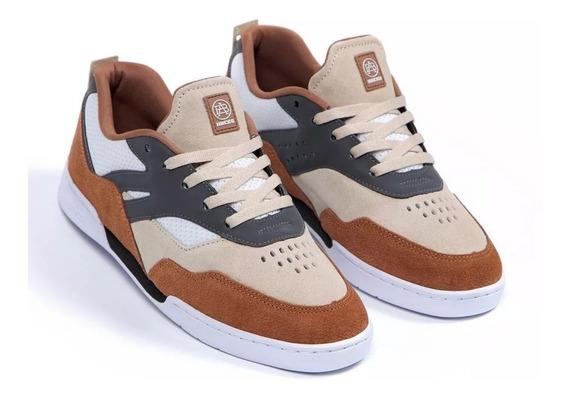 Tênis Hocks Skate Vita Caramelo Sneaker Original Promoção