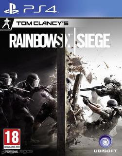 Juego Rainbow Six Siege Ps4 Playstation 4 Ps4 Fisico Nuevo