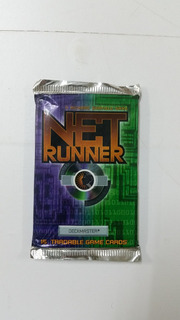 Card Games Rpg Raridade Booster Net Runner