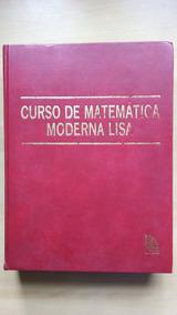 Livro Curso De Matemática Moderna Lisa