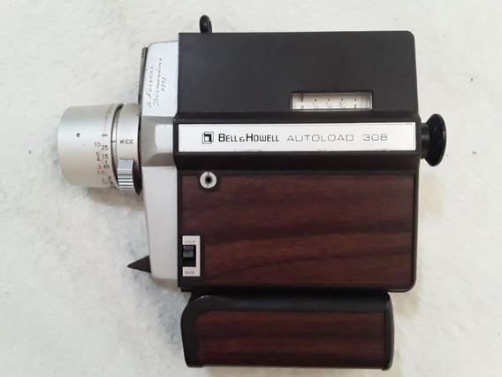 Filmadora Bell Howell Altoload 308 Super Eight