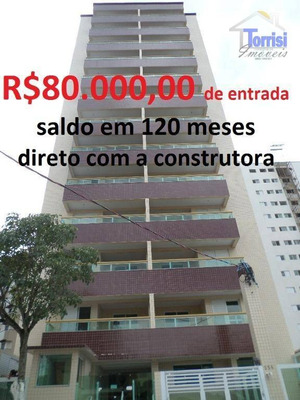 Apartamento Em Praia Grande, 02 Dormitórios, Pronto Para Morar, Parcelamento Direto Com A Construtora - Ap0141