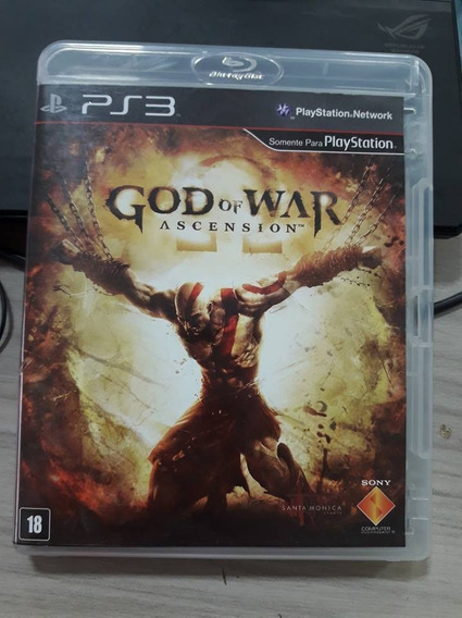 Jogo God Of War Ascension Português P/ Ps3 Midia Fisica