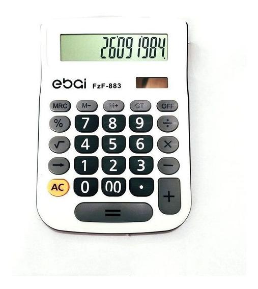 Calculadora Eletrônica De Mesa 12 Dígitos Ebai Fzf-883