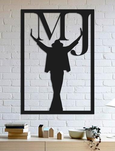 Quadro Decorativo Parede Música Michael Jackson 90cm