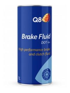 Liquido De Frenos Q8 Brake Fluid Dot 4+ - 1 L