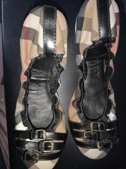 Zapatos Burberry Mujer Original Nuevos Talla 40 O 5 1/2 Mex