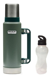 Termo Stanley Legen Classic 1.3 L Cebador Vertedor + Botella