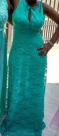 Vestido Madrinha Verde Tifany M