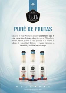 Purés De Frutas Main Fusion Frappes, Cafetería Y Coctelería
