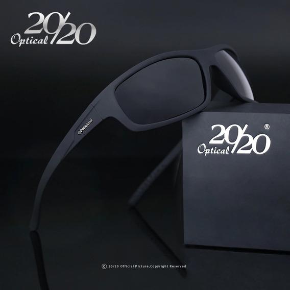 Oculos De Sol Masculino Polarizado Proteção Uv400