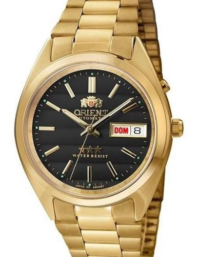 Relógio Orient Masculino Dourado  Automático