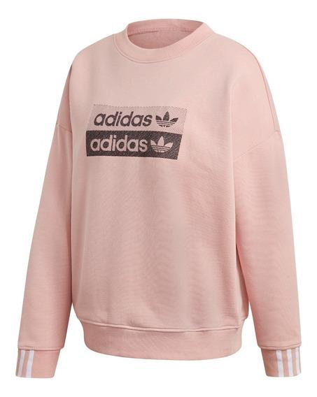 Buzo adidas Sweatshirt Ros De Mujer