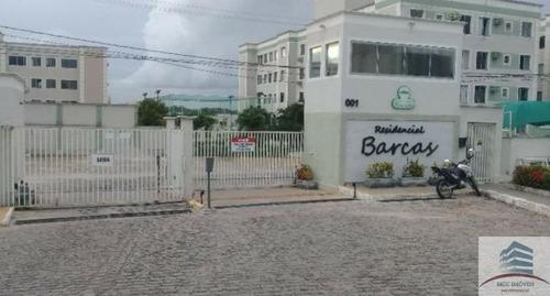 Apartamento A Venda Residencial Barcas, Nova Parnamirim