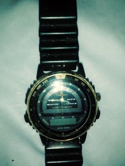 Relógio Marca Champion, Anos 80 Para Colecionador