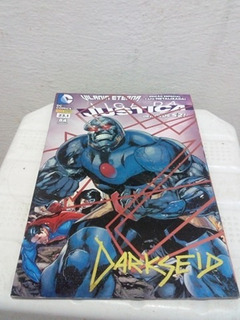 Hq Gibi Liga Da Justiça Os Novos 52 Darkseid Capa Metalizada