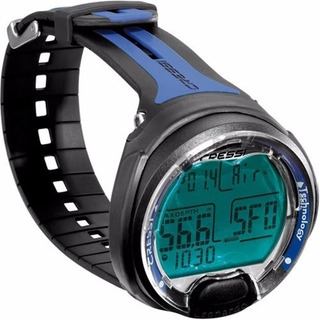 Reloj Buceo Cressi Leonardo Dive Computer Nuevo Negro Azul