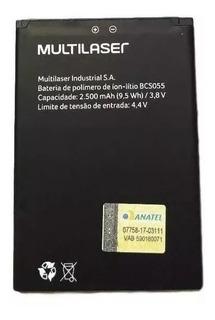 Bateria Multilaser Ms60f Bcs055 2500mah P9055 P9056 Cp580k
