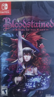 Bloodstained Ritual Of The Night Nintendo Switch Delivery