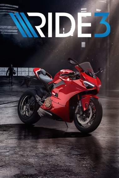 Ride 3 + 2 Jogos ( Mídia Física ) Pc - Dvd Frete Gratis