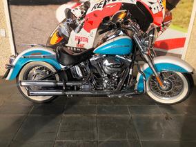 Harley Davidson Softail Deluxe De 2016 Est Troca 10017 Km