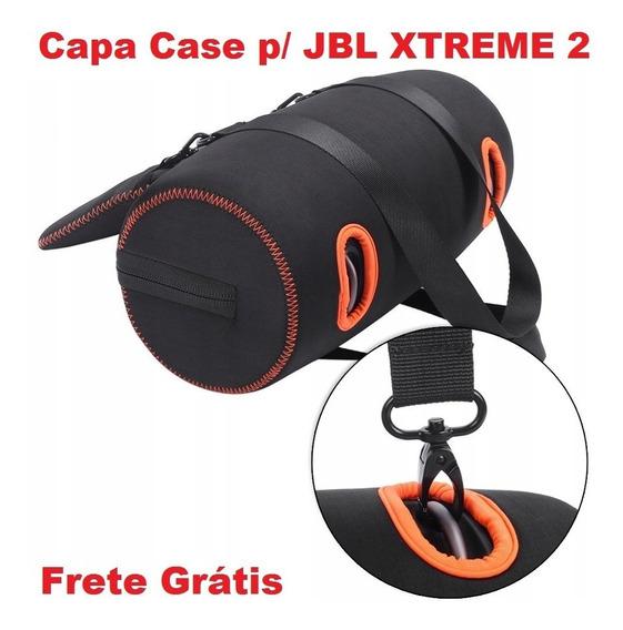 Capa Case Jbl Xtreme 2 Neoprene Eva C/ Bolsa Acessórios Top