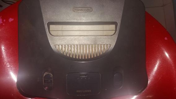 N64 Console Nintendo 64 Completo Des + Jogo Brinde