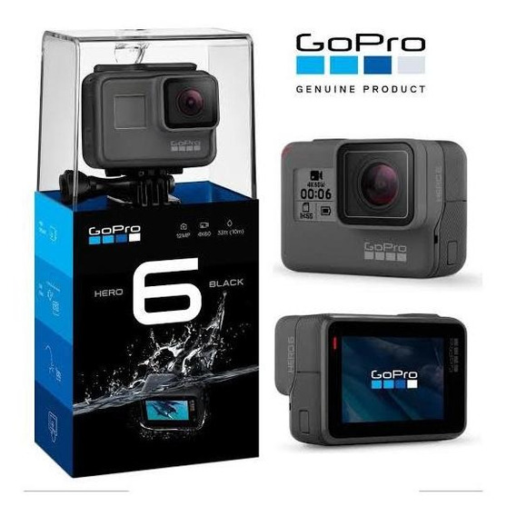 Câmera Go Pro Hero 6 Black Edition