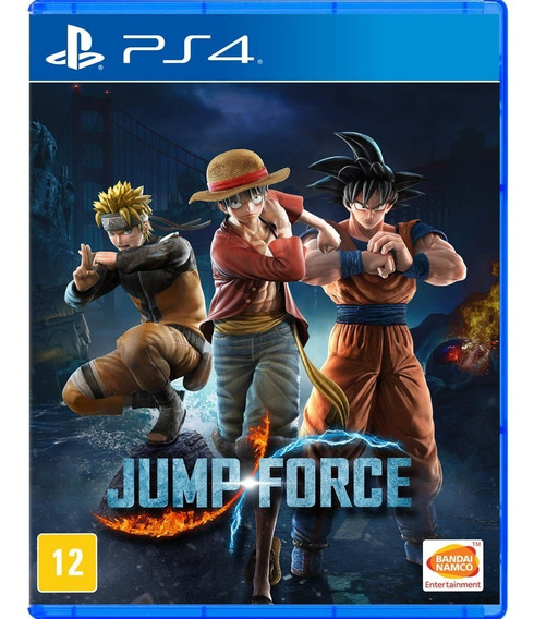 Jump Force - Mídia Física - Ps4 - Nv