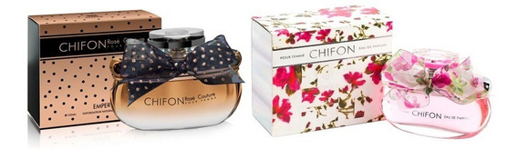 Kit Emper Chifon E Chifon Rose Couture Fem 100 Ml-original