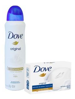 Antitranspirante Dove Original + Jabon Con Crema Humectante