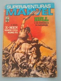 Hq Superaventuras Marvel 23 Ed Abril 1984