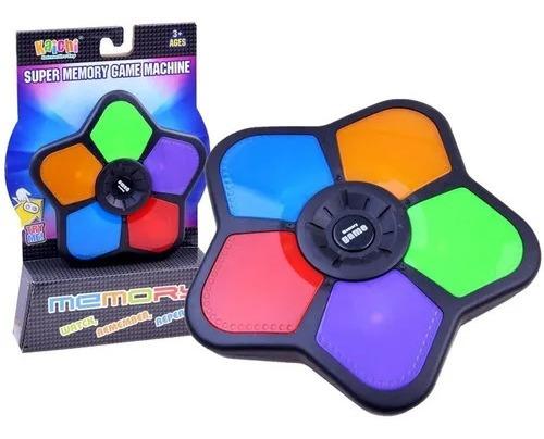 Juego De Memoria Memory Game Con Sonido Y Luz