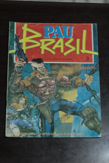 Hq Gibi Pau Brasil Nº3 Ed. Vidente Antigo Raro 1993 Cod-2