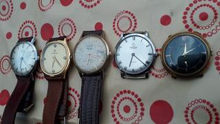 Relojes A Cuerda De Coleccion A Revisar